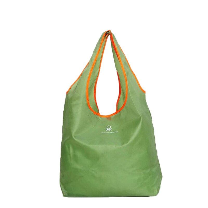 Fashion Foldable Shopping Bag reusable grocery bags Durable Multifunction HandBag Travel Home Storage