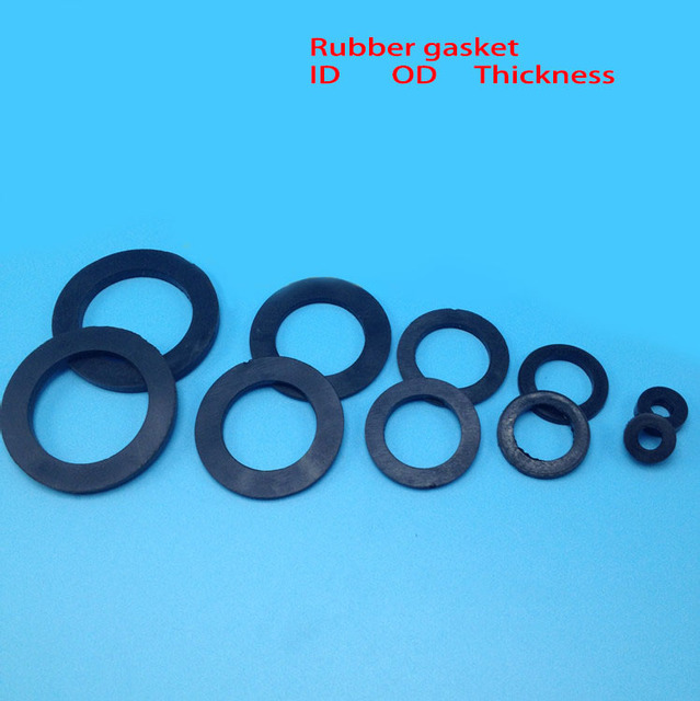 500pcs Flat Gasket 12x19x2.8 10x19x2.8 NBR rubber gasket rubber ...