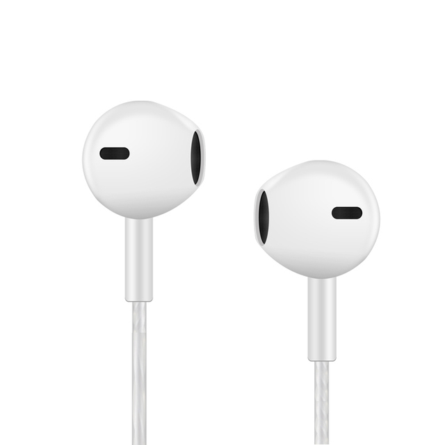 Earphone Headphones  3.5mm Stereo Wired Bass Headset with Microphone Earbuds for Iphone and Android Phones Xiaomi