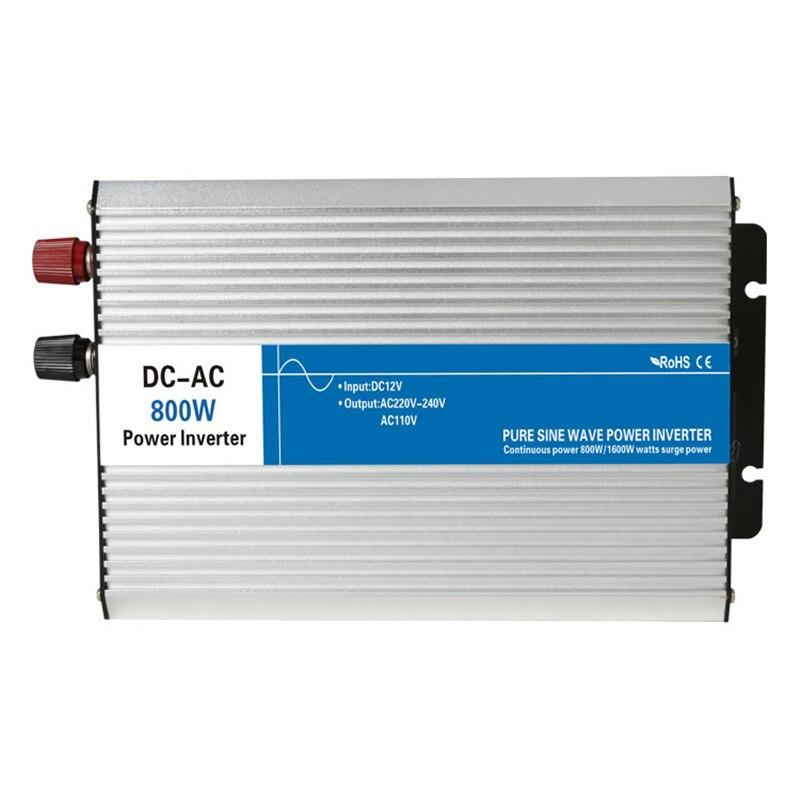 цена на 800w Pure Sine Wave Inverter 12V/24V/48V To 110V/220V Tronic Power Inverter Circuits Off Grid Tie Inverter Cheap 12 24 48 V Volt