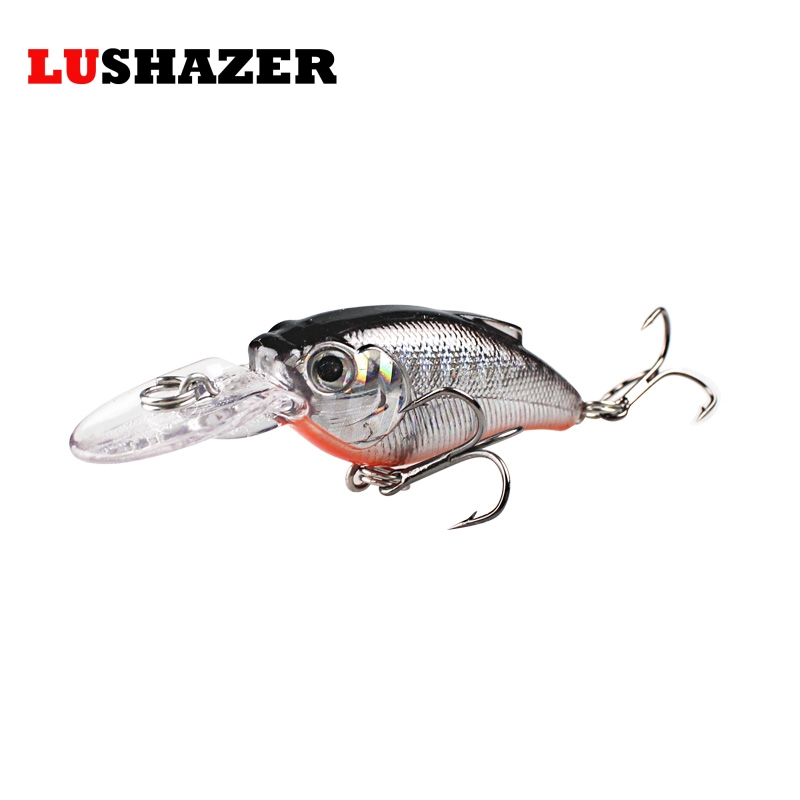 LUSHAZER minnow crank bait 9.5g 9.5cm jerkbait isca artificial fish wobbler  hard lure cheap fishing tackle fly tying materials 5sheets pack 10cm x 5cm holographic adhesive film fly tying laser rainbow materials sticker film flash tape for fly lure fishing