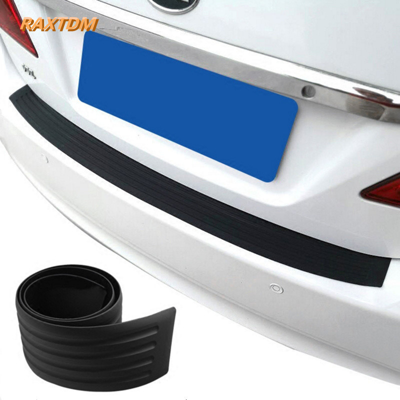 Car Rear bumper rubber scuff trim for Mini Cooper R52 R53 R55 R56 R58 R59 R60 R61 Paceman Countryman Clubman coupe aliauto car styling car side door sticker and decals accessories for mini cooper countryman r50 r52 r53 r58 r56