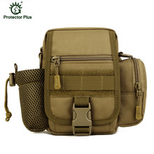 Tactical Molle Waist Bags Waterproof Men Outdoor Sport Casual Pack Nylon Work Bag Army Military Small bags D47