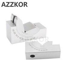 Freze Makinesi hassas parçalar Ayarlanabilir Ped 0/30/60 Açı Ölçer Debugge V Blok Angler Üst Aracı AP25 AP30 AP46 Için Ölçüm