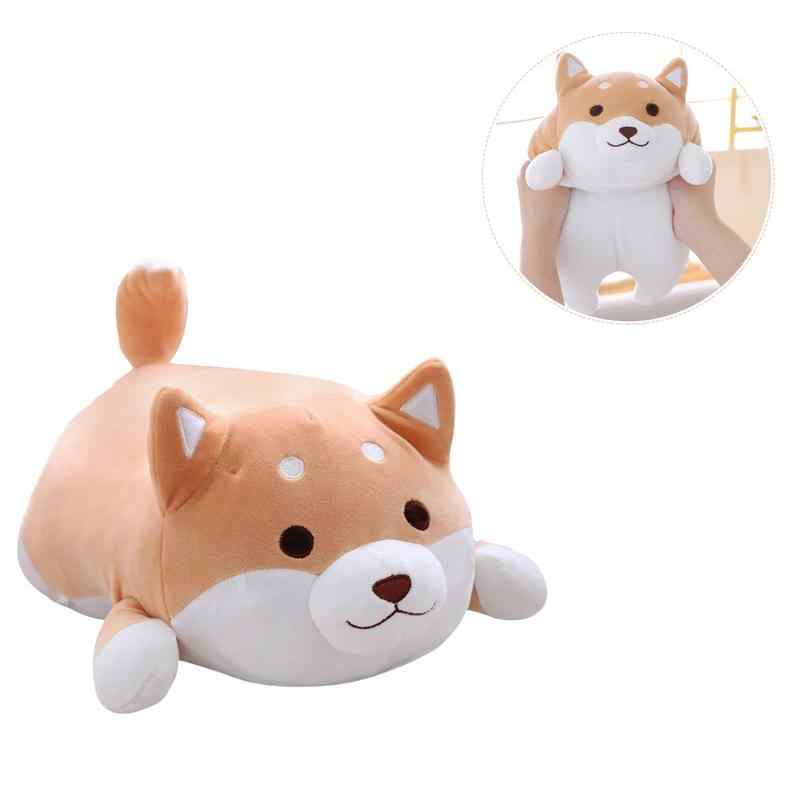 ... MINOCOOL Baby And Adult Chubby Corgi PP Cotton Plush Doll Toy Soft  Elastic Home Pillow Fat ...