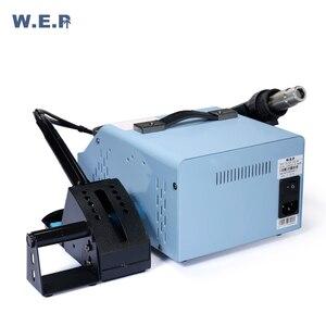 Image 4 - WEP 992DA + 780W palenie ssania stacja lutownicza stacja rozlutownicy pompa dmuchawa gorącego powietrza zestaw narzędzi do naprawy Smd stacja lutownicza