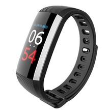 G19 Спорт мониторинг в реальном времени артериального давления сердечного ритма Смарт-фитнес часы-браслет интеллектуальные трекер активности с Цвет ЖК-дисплей