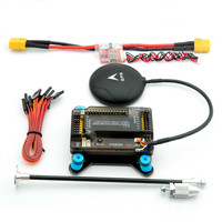 APM 2.8 Flight Controller with Shock Absorber 5V 3A Power Module XT60 NEO M8N GPS 6M GPS Remote Controller Helicopter Airplanes