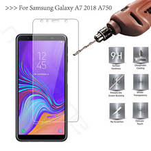 High Quality Screen Protector For Samsung Galaxy A7 2018 Tempered Glass Samsung A7 2018 A 7 2018 SM-A750F A750 Protective Film цены онлайн