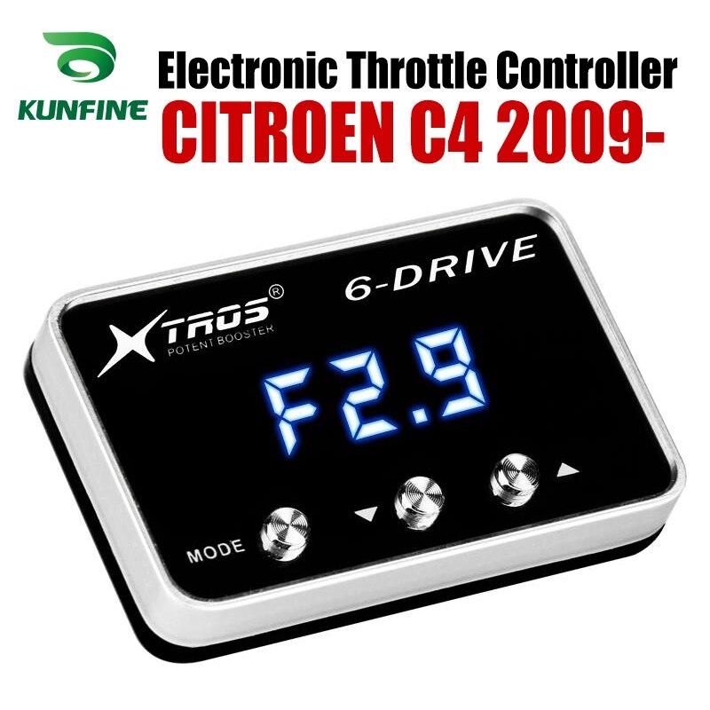 Otomobiller ve Motosikletler'ten Araba Elektronik Gaz Kelebeği Kontrol Ünitesi'de Araba elektronik gaz kontrol hızlandırıcı güçlü güçlendirici CITROEN C4 2009 2019 tuning parçaları aksesuar title=
