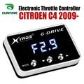 Auto Elektronische Gasklep Controller Racing Gaspedaal Potent Booster Voor CITROEN C4 2009-2019 Tuning Onderdelen Accessoire
