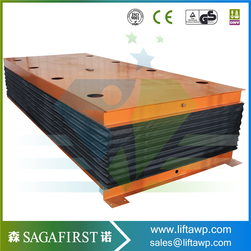 Customized Hydraulic One Scissor Lift Table CE Approved