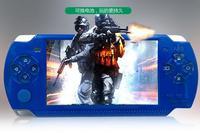 Portátil de 4.3 Pulgadas Jugador Handheld del Juego Con 8 GB MP5 Video Cámara FM TV OUT Game Console Multimedia