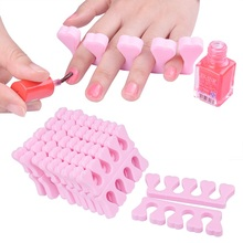 20Pcs/lot Soft Foam Toe Separator Nail Art Finger Manicure Salon Tools