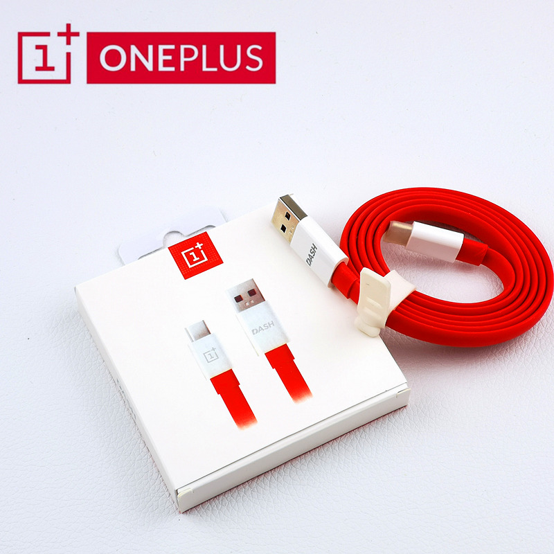 ONEPLUS Cable Dash-Charger Type-C Original Usb 1 For 6 5-3t-3 Noodles 5t Red 100cm/150cm