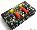 Montado LM4702 Hifi Classe AB Audio power amplifier AMP board com dissipador de calor 100 W + 100 W
