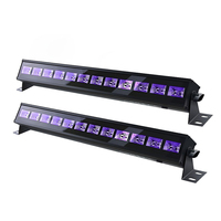 Xsky LED UV Black Light Stage Light Bar Wall Washer Lamp Stage Lighting Effect Lights For UV Dj Club Disco Home Christmas Partys