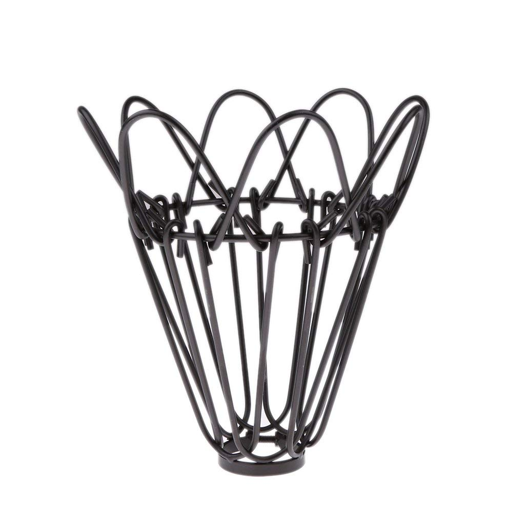 Brand New Antique Hanging Lampshade Chandelier Cage Ceiling Light Pendant Metal Wire - Black
