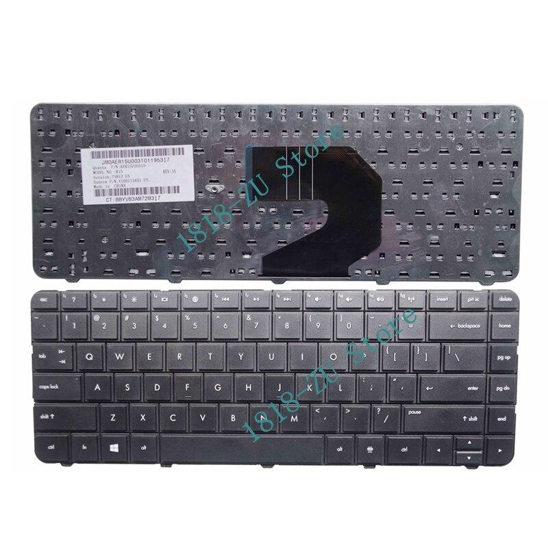 YALUZU English For HP US Black Keyboard For Compaq Presario CQ43 CQ57 CQ58 436