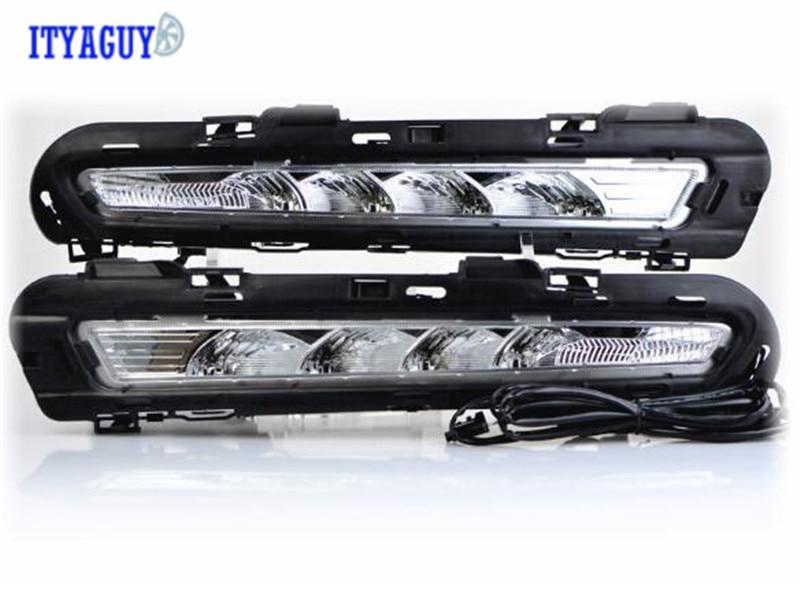 Стайлинга автомобилей противотуманная фара для Мондео 2011-2013 2x светодиодные вождения дневного света высокое качество бесплатная доставка