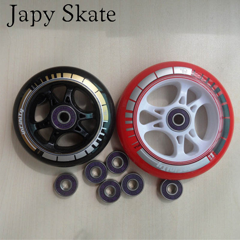 Powerslide Skate Quality: Japy Skate PowerSlide Infinity Inline Speed Skating Wheels