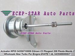 Zawór upustowy Turbo KP35 54359880009 54359700009 dla Citroen C1 C2 C3 Xsara dla Mazda 2 dla PEUGEOT 206 307 DV4TD 8HX 1.4L