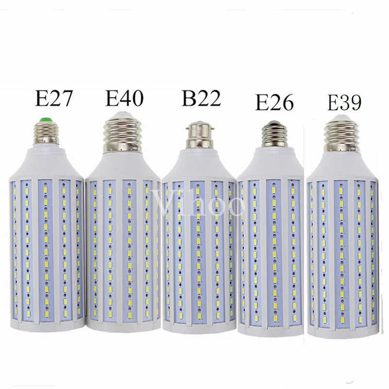 Led הנורה 50 w 60 w 80 w 100 w E27 B22 E40 E26 E39 תירס מנורת 110 v 220 v 5730SMD חיסכון באנרגיה Lampada מתח גבוה ספוט תאורת אור