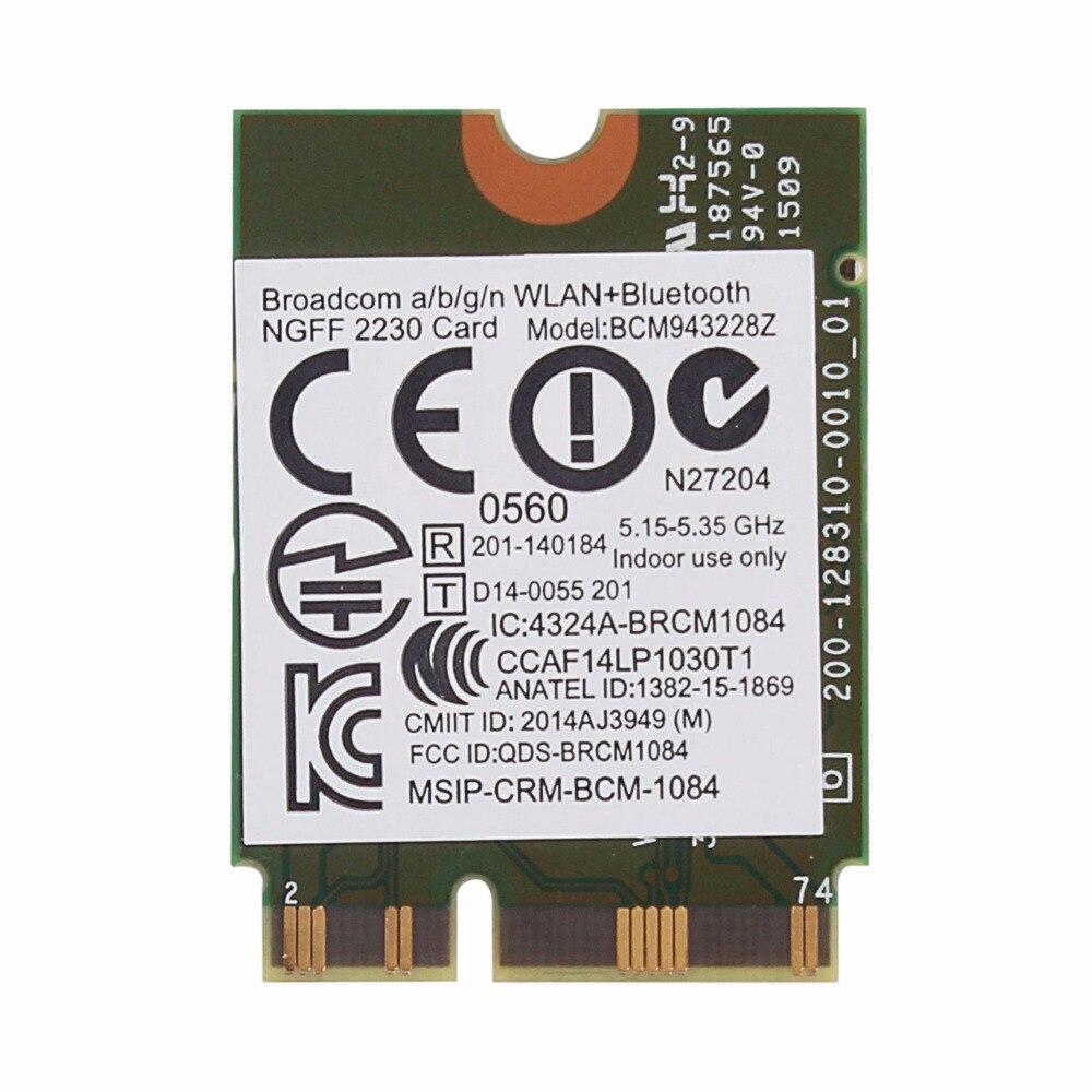Broadcom BCM943228Z Drivers for Windows 8