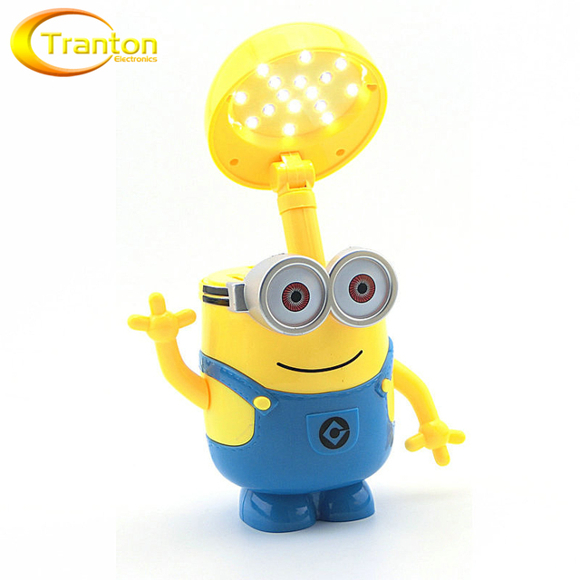 Despicable Me Minions LED Nightlight  ICE AGE 4 Desk Lamp Money piggy bank  Box  for Bedroom Decoration