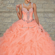 XGGandXRR EQ008 Quinceanera Dress Ball Gown Dress for