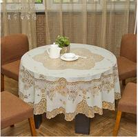 Free shipping ou round table cloth waterproof disposable table cloth round table MATS PVC heat tea table