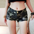 Fashion Women Summer Short pant Vintage Denim Low Waist Jean Shorts Hot Sexy Cross-Pant 800196