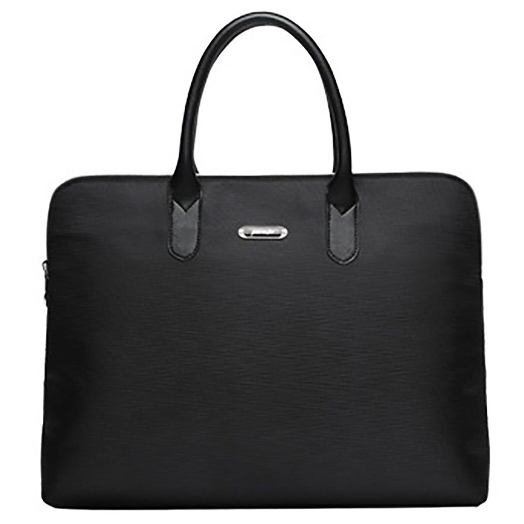 2019 Fashion Simple Famous Brand Business Men Briefcase Bag Luxury Leather Laptop Bag Man Shoulder Bag Bolsa Maleta