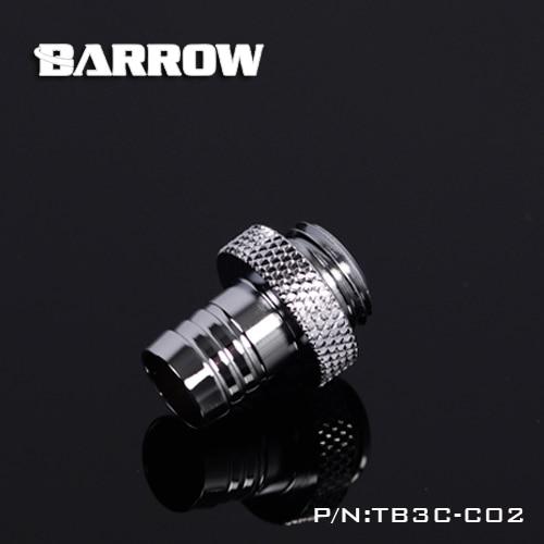 Barrow Musta messing G1 / 4 '' keere 3/8 käsitsi pingutage pagoodi - Arvuti komponendid - Foto 4