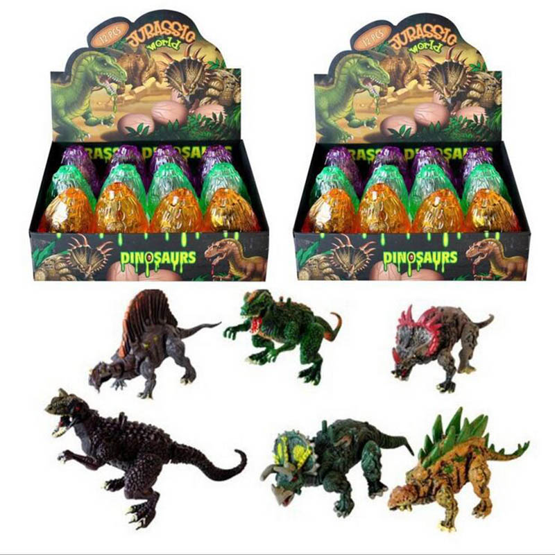 Jurassic <font><b>Dinosaurs</b></font> <font><b>Eggs</b></font> Novelty <font><b>Toy</b></font> Dino Play Creative Hatch Color Random image