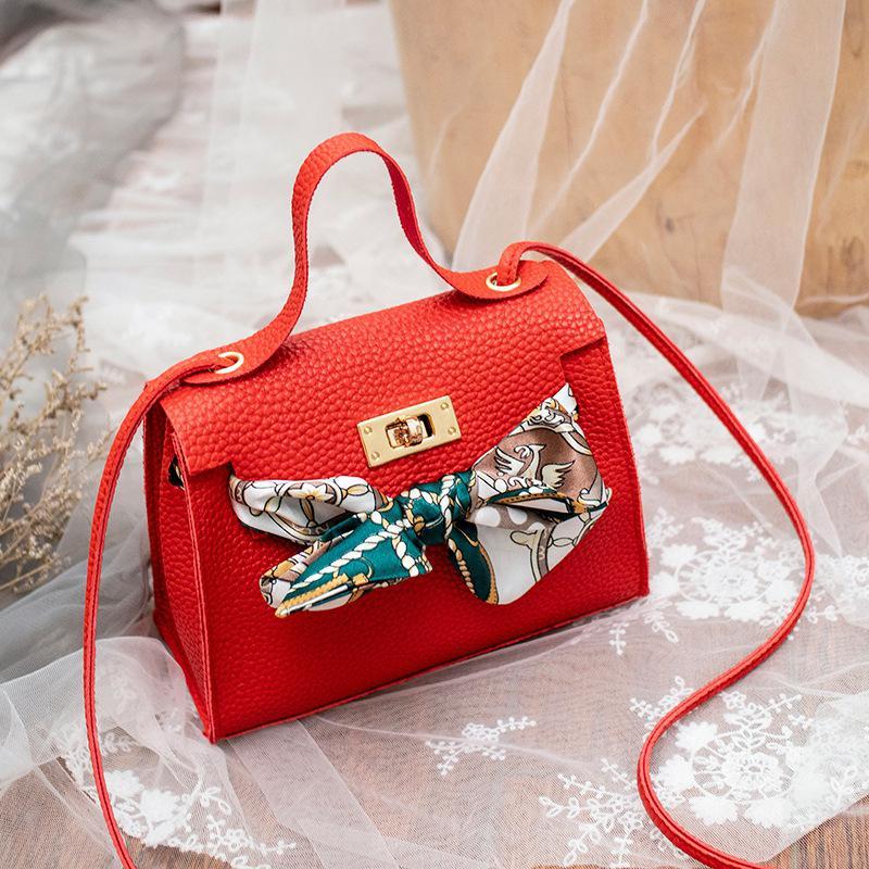 PinShang Women Fashion Simple Cross-body Bag Retro Casual Delicate Buckle Mini Square Bag