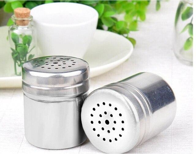 AISONG Kitchen Supplies Aço Inoxidável Pote Condimento Frascos De  Especiarias Garrafa Tempero Pimenta Pote Churrasco Ferramentas