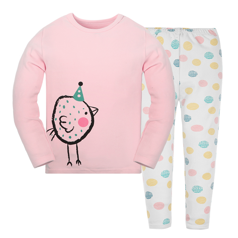 child women garments pink sweatshirts clothes units women shirt cotton Lengthy sleeve cartoon chook women animals Pajamas set women sleepwear, child lady sleepwear, pajama set lady,Low cost women sleepwear,Excessive...