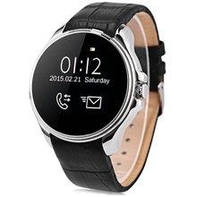 Heißer verkauf! heißer verkauf Einfache Design ORDRO SW28 Uhr 1,22 zoll Smartwatch Telefon MTK2502 mit Schrittzähler Schlaf-monitor Sitzende Remin