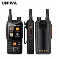 UNIWA Alps F25 Zello мобильный телефон рация телефон MTK6735 4 ядра 1 GB + 8 GB Встроенная память GSM/WCDME/усилитель сигнала Android смартфон