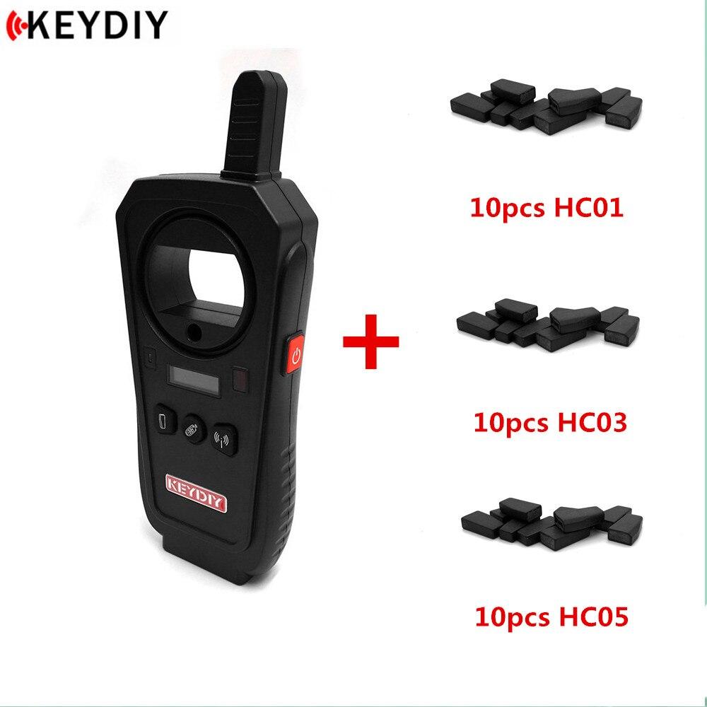 KEYDIY KD-X2 Remote Maker Unlocker Generator-Transponder Chip Copier Car Key Frequency Tester With KD Chips English Version