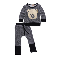 Toddler Infant Baby Kids Boy Girl Clothes Sets T Shirt Pants Spring Summer Outfit Long Sleeve