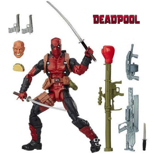 6'' Brand new Marvel Comics Deadpool Movie Action Figure Collectible Model Toys For Children Gift Boy Gift without original box 1746 io8 brand new without the box