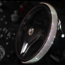 Luxury Car Steering Wheel Cover for Women Girls