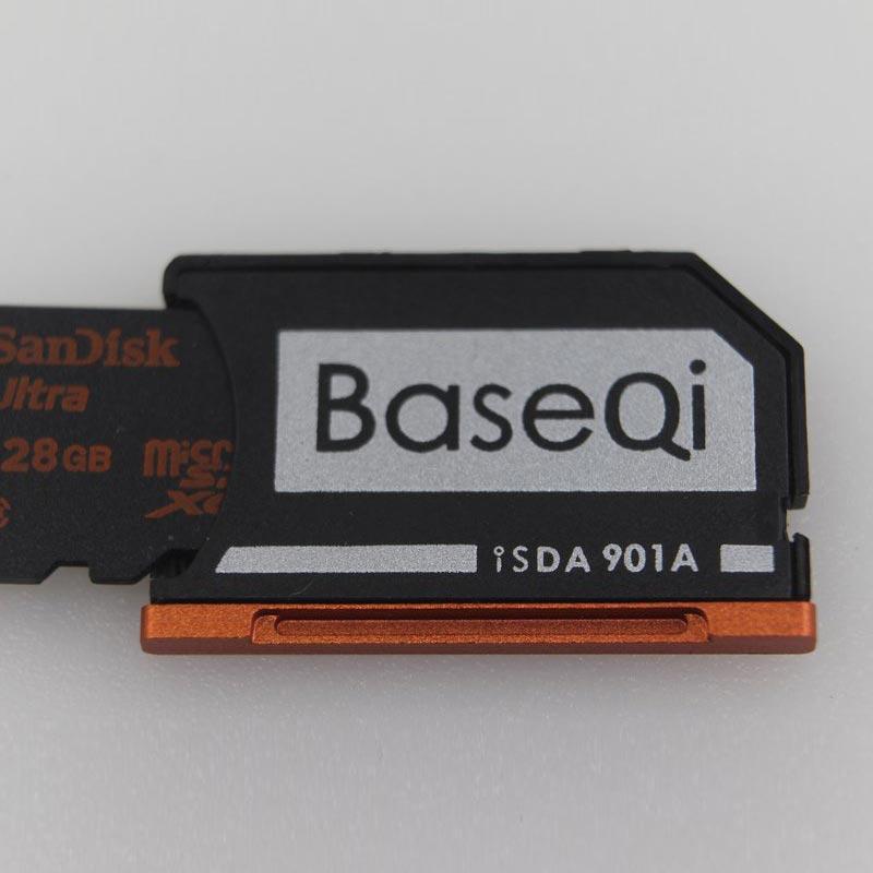Image 3 - New Baseqi Ninja Stealth Drive Card adaptor Aluminum MiniDrive Micro SD Memory Card Adapter for Lenovo yoga 900 & 710 Dropship-in Memory Card Adapters from Computer & Office