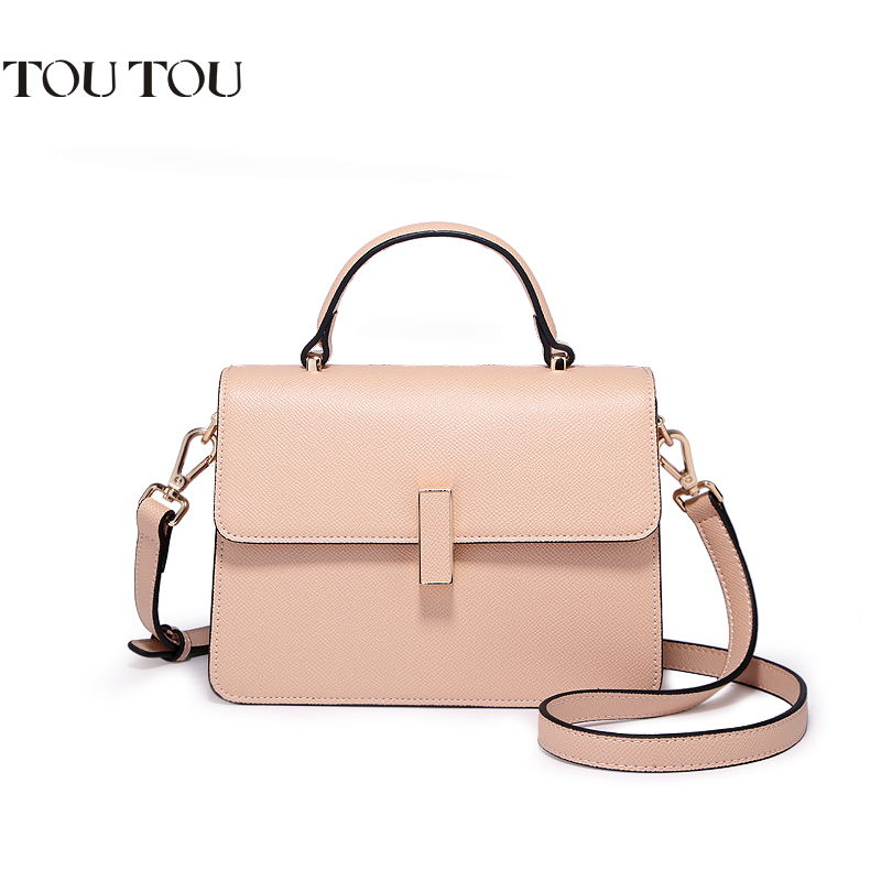 TOUTOU women bag The new 2018 contracted and fashionable joker organ lock handbags One shoulder aslant package Free shipping free shipping 2014 boom bag leisure contracted one shoulder bag chain canvas bag page 1