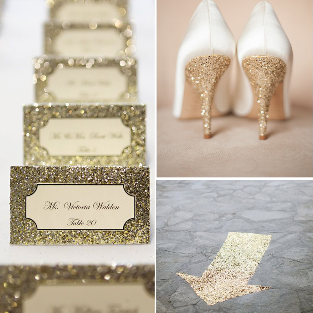 100g / Pack Sparkle Gold Silver Glitter Bling Tiny Sequin For DIY ...