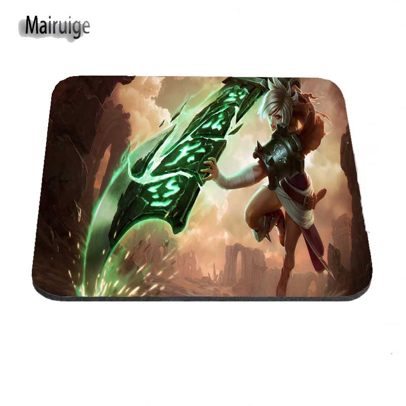Mouse & Keyboards Maiyaca Miss Fortune With Red Hair And A Hat League Of Legends Mouse Pad Computer Gaming Mouse Pad Gamer Play Mats High Quality Goods