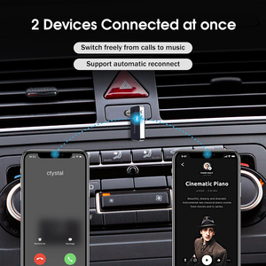 Image 3 - Mpow BH051 Bluetooth 5.0 Receiver Wireless Adapter With Quick Charging & Voice Assistant 10H Playtime For Headphone Car Home
