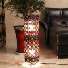 Богемный стиль красочные столовой торшер гостиной торшер классический кафе изысканный огни ac90-260v бесплатная доставка
